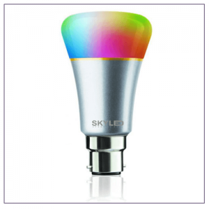 7W Smart Light Rainbow LED Bulb